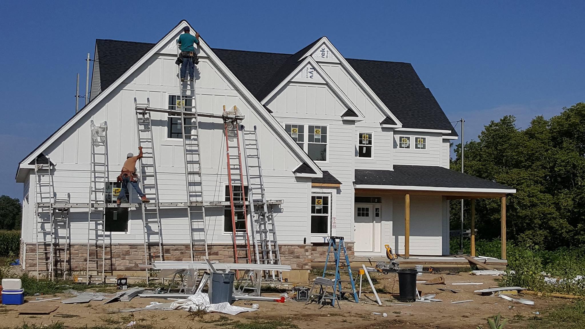 Custom Home Building Progress