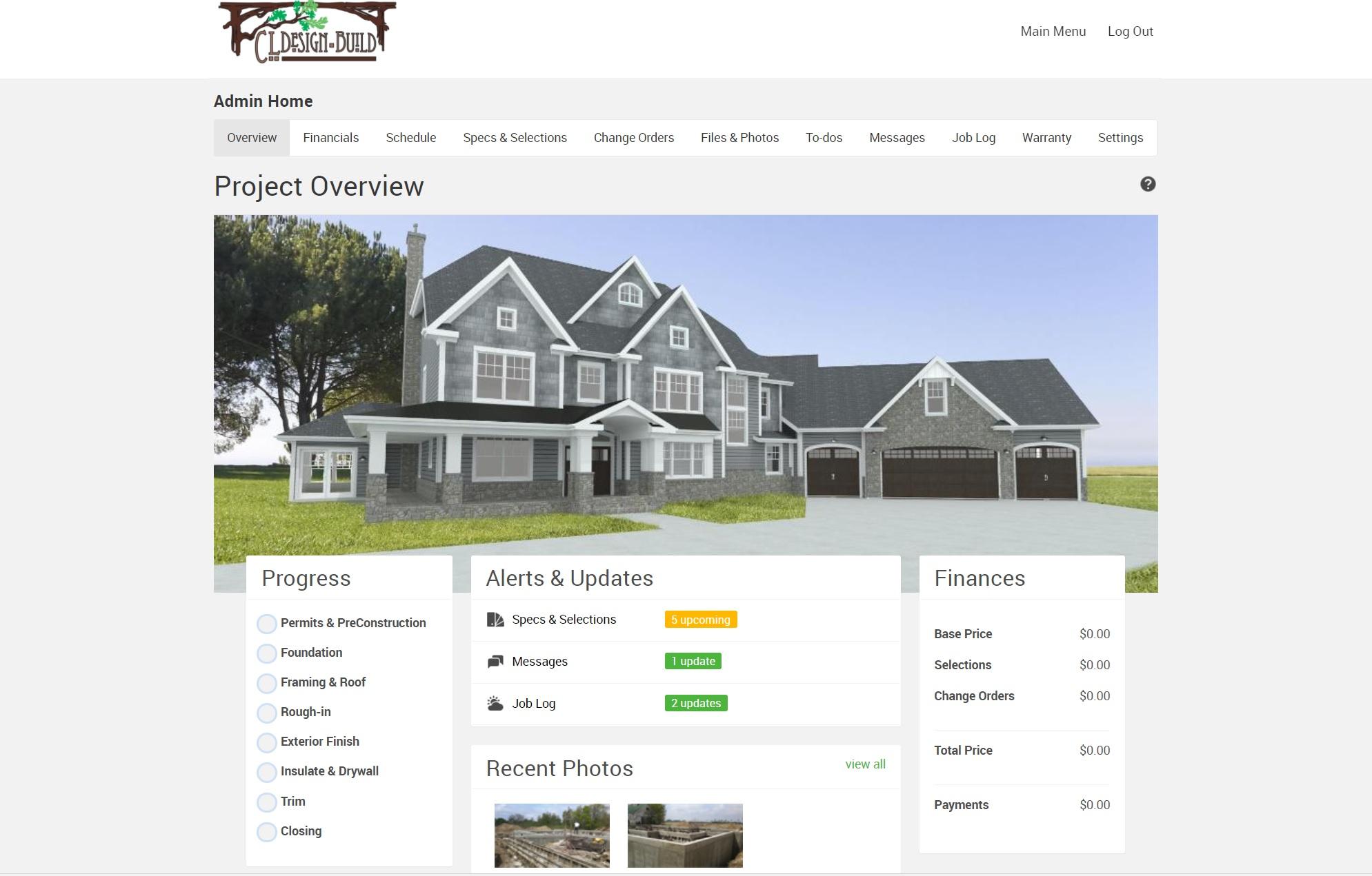 CL Design-Build Construction App