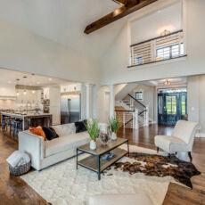 Great Room in Custom Modern Farmhouse 2