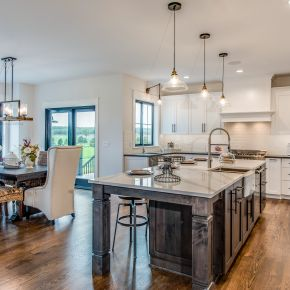 Kitchen in Custom Modern Farmhouse